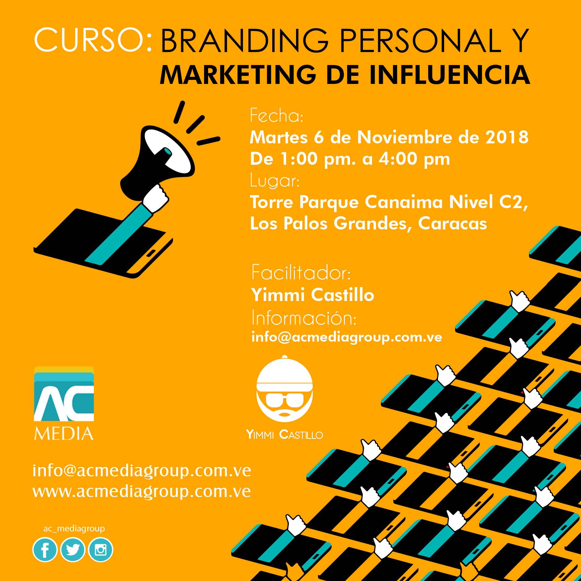 Curso de Branding Personal y Marketing de Influencia